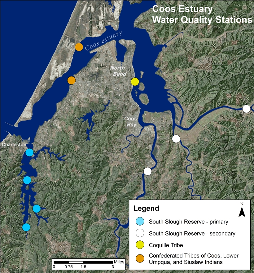 Coos Estuary Water Quality Monitoring Network